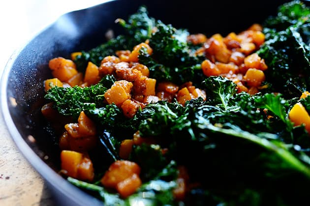 Butternut Squash & Kale from The Pioneer Woman