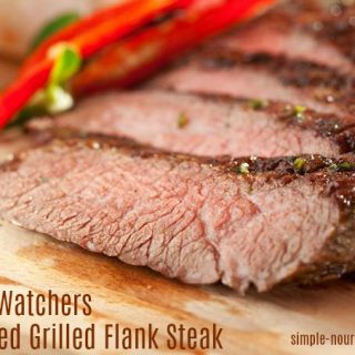 Weight Watchers Grilled Flank Steak Recipe – 4 WW Freestyle SmartPoints