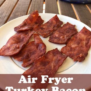 Air Fryer Turkey Bacon - Weight Watchers Friendly Recipe