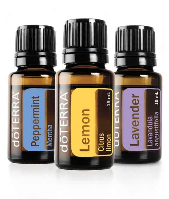 doTERRA Lavender Lemon Peppermint Essential Oil Trio