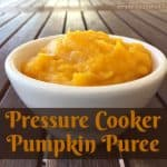 Homemade Pressure Cooker Pumpkin Puree