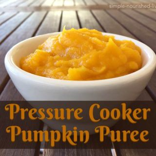 Homemade Pressure Cooker Pumpkin Puree – 0 WW Freestyle SmartPoints