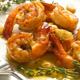 Shrimp with Garlic, Oil and Hot Peppers – 4 Weight Watchers Freestyle SmartPoints