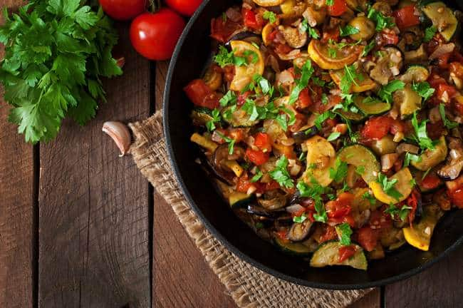 Weight Watcher Friendly Ratatouille