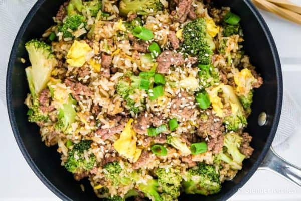 Best SmartPoints Recipes 2017 Beef Broccoli Fried Rice Slender Kit hen