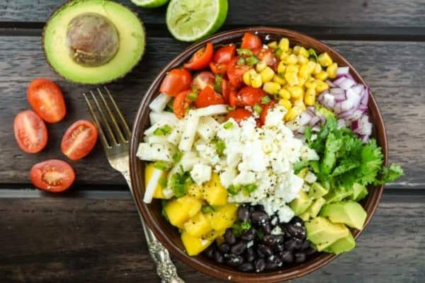 Best SmartPoints Recipes Mexican Chopped Salad Slender Kitchen