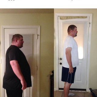 Richard Before and After Weight Loss Success