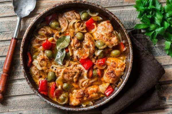 Best SmartPoints Recipes Slow Cooker Mediterranean Chicken Slender Kitchen