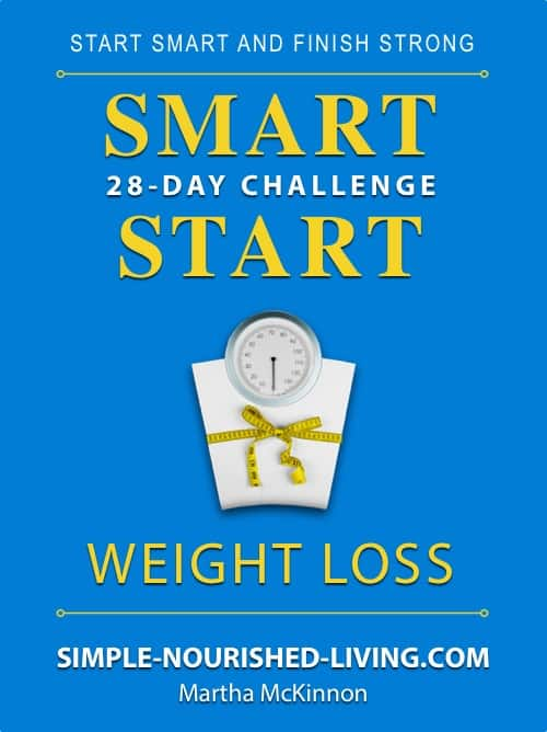 28-Day Smart Start Weight Loss Challenge eBook Cover