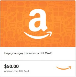 $50 Amazon Gift Card from Simple Nourished Living