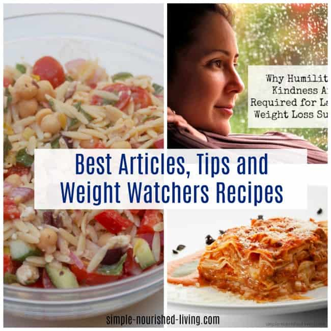Best Articles, Tips and Weight Watchers Recipes 2017