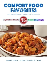Comfort Food Favorites eCookbook - Weight Watchers Freestyle SmartPoints Updates