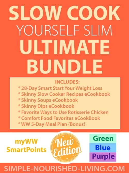 Slow Cook Yourself Slim eBook Bundle - myWW Green, Blue and Purple SmartPoints