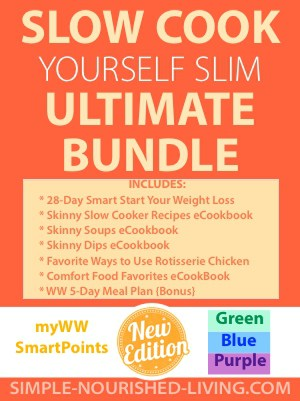 Slow Cook Yourself Slim Ultimate eBook Bundle - Weight Watchers Freestyle SmartPoints Edition