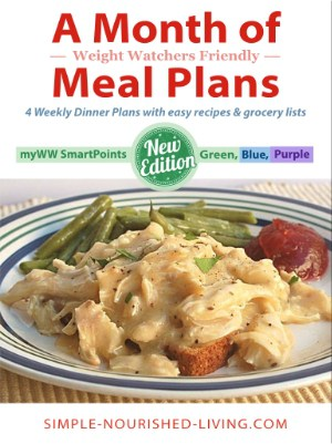 Month of WW Friendly Meal Plans eBook - Freestyle SmartPoints Updates