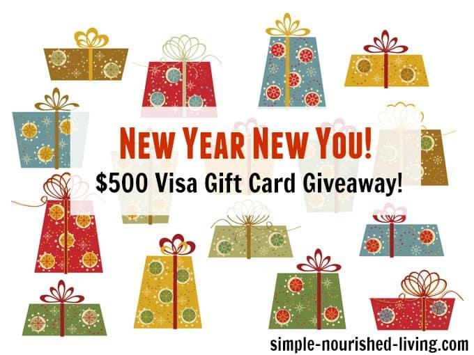 new year new you visa gift card giveaway celebrate season