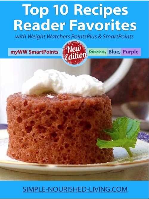 Top 10 Reader Favorite Recipes includes Weight Watchers SmartPoints for the new Green, Blue and Purple plans