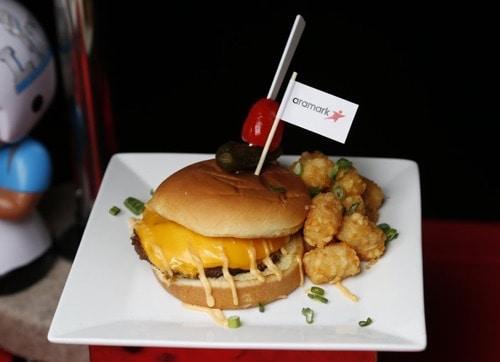 612 Burger Super Bowl LII - Concession Food