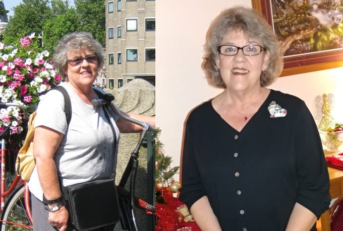 Barbara G. Before and After Weight Watchers Weight Loss Success Journey