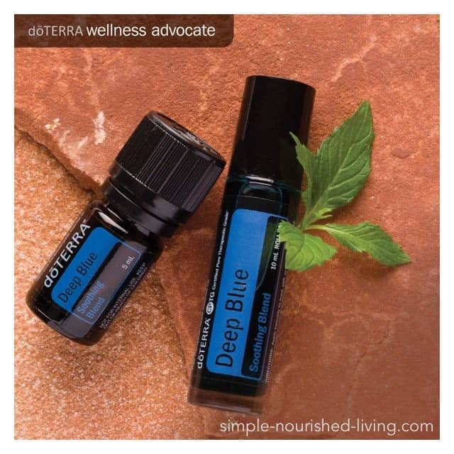 Deep Blue Essential Oil Soothing Blend from doTERRA