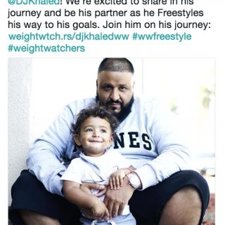 DJ Khaled Newest Weight Watchers Ambassador for WW Freestyle Program