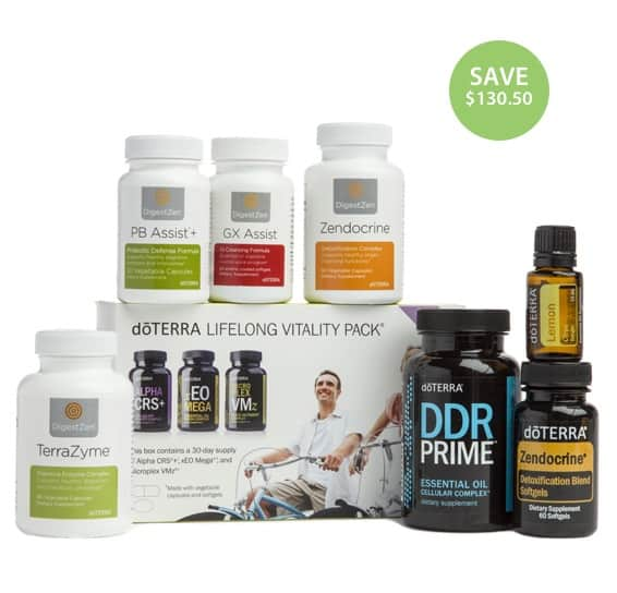 doTERRA Cleanse and Restore Enrollment Kit