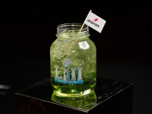 Midnight Green Punch - Super Bowl LII Concession Drink