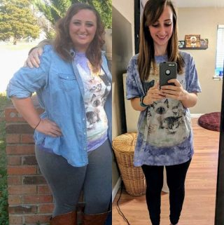 Hayleigh's Weight Loss Success Story Before and After