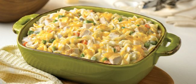 Campbell's Hearty Chicken Noodle Casserole Made Lighter WW Freestyle SmartPoints