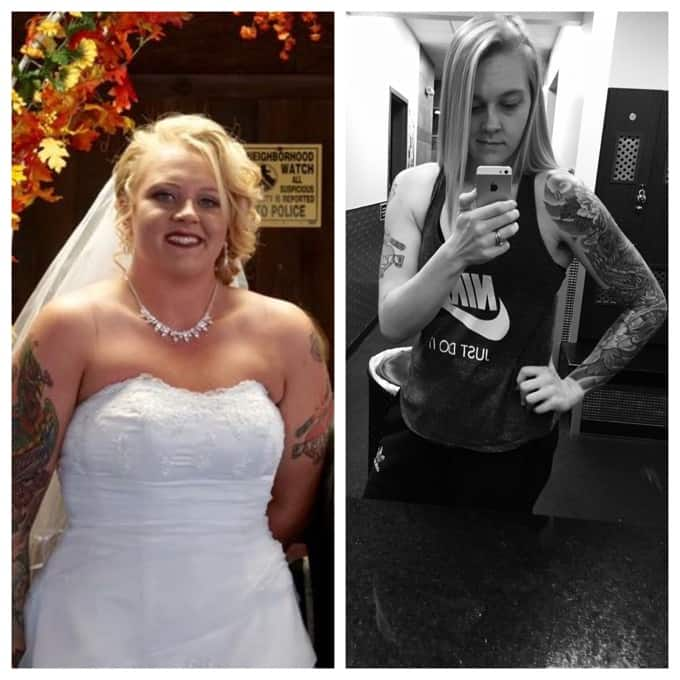 Jamies Journey Before and After Weight Loss Success