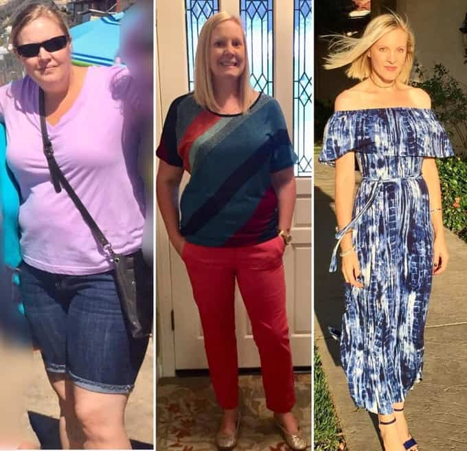 Vegans of Weight Watchers - Lori Manby before and after photos