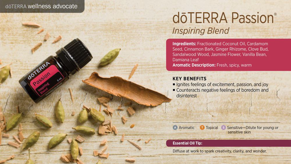 doTERRA Passion Inspiring Essential Oil Blend