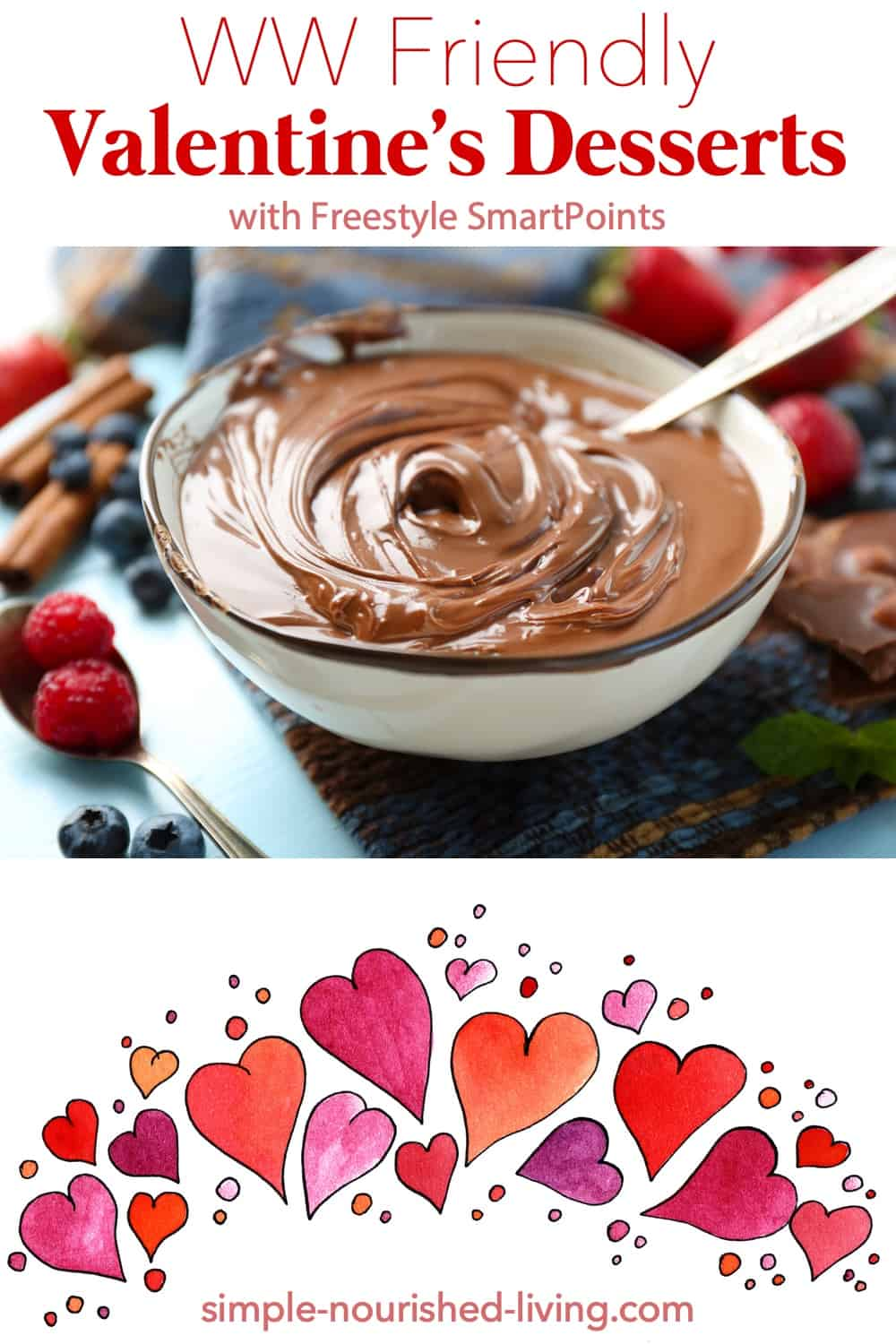 It's just not Valentine's Day without a little sweet treat. This list of Weight Watchers friendly desserts with Freestyle SmartPoints will help you to not overdo it! #wwfreestylevalentinesdesserts #freestyledesserts #ww #wwdessert #weightwatchers #wwfamily
