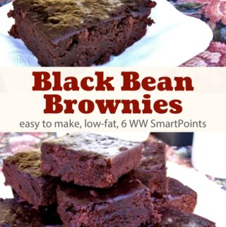 Skinny Black Bean Brownies Recipe – 6 WW Freestyle SmartPoints