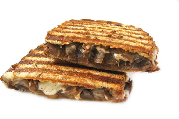 Skinny Grilled Cheese & Roast Beef