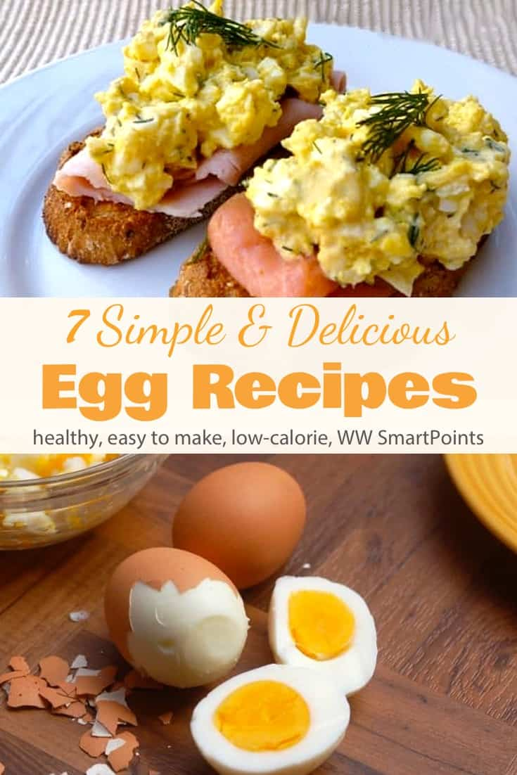 Good news for Egg Lovers… Eggs are now a Zero Point Food on the new WW Freestyle Program. Here is a collection of 7 of my favorite simple and delicious low-calorie recipes featuring eggs! #lowcalorieeggrecipes #wweggs #eggs