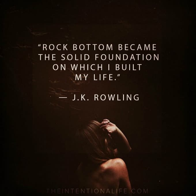 Rock Bottom JK Rowling
