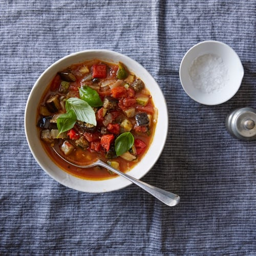 Roasted Ratatouille Soup from Weight Watchers