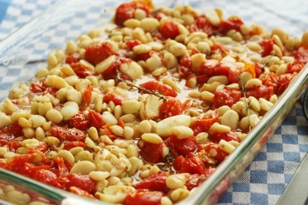 SnackGirl's Tomato and Bean Casserole - 0 Weight Watchers Freestyle SmartPoints