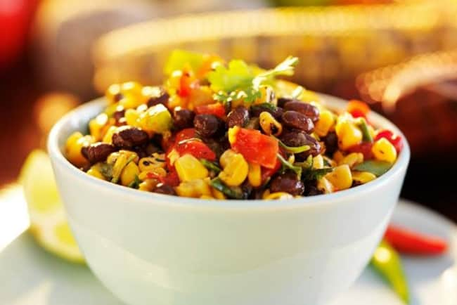 SlenderKitchen's Black Bean and Corn Salad - 0 Weight Watchers Freestyle SmartPoints