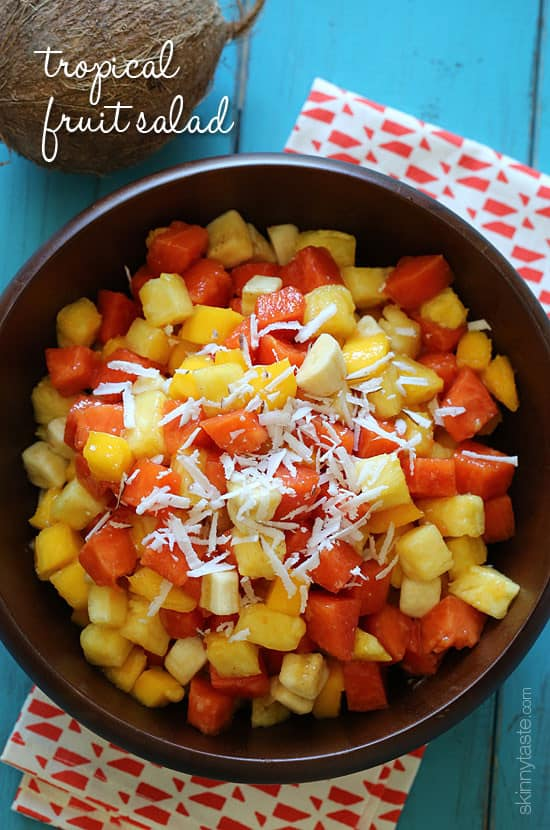 Weight Watchers Tropical Fruit Salad