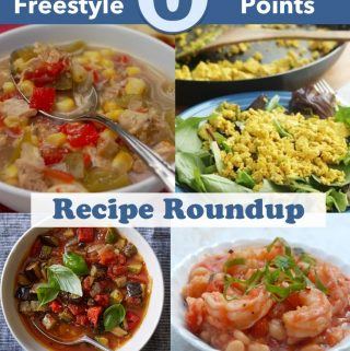 Zero Freestyle SmartPoints Weight Watchers Recipe Roundup