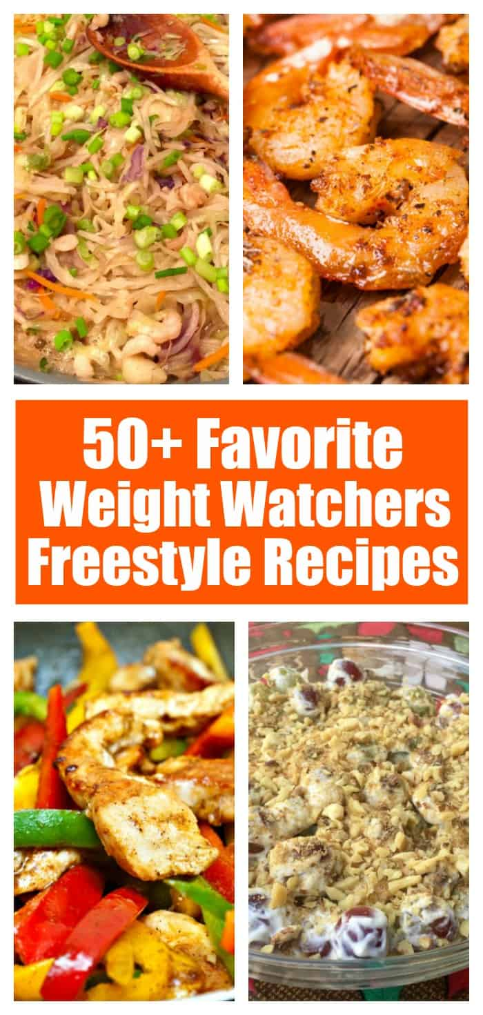 50+ Favorite Weight Watchers Freestyle Recipes - Breakfast, Lunch, Dinner, Snacks, Slow Cooker, Desserts, Low Calories, Low SmartPoints
