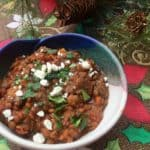 WW Slow Cooker Vegetarian Lentil Chili