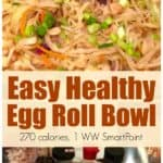 Easy Healthy Egg Roll Bowl Pin