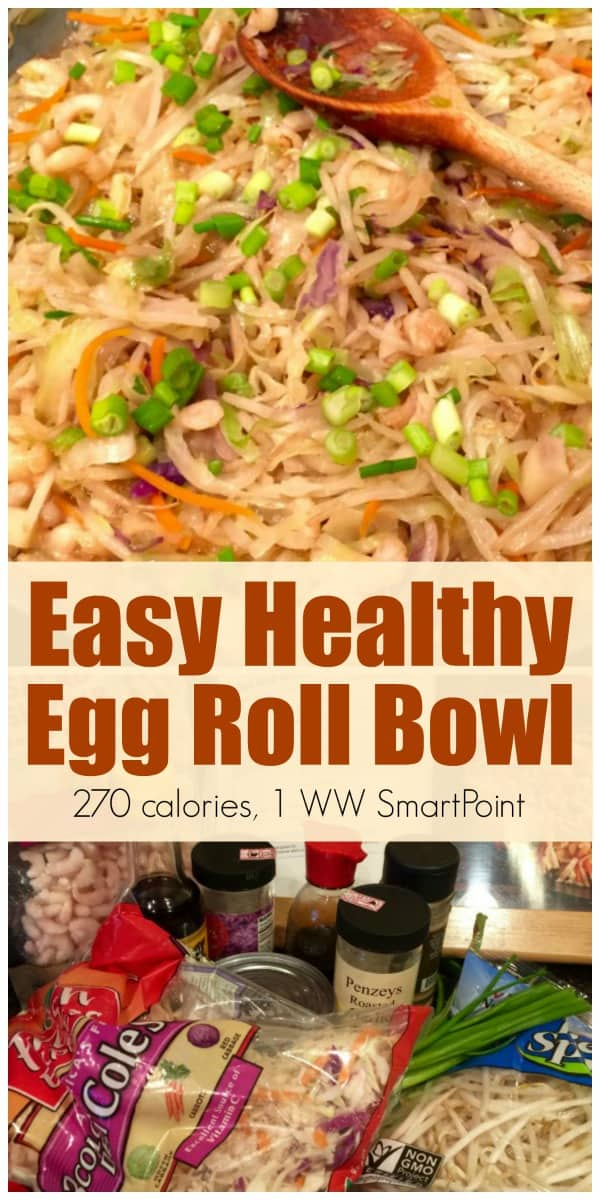 Easy Healthy Egg Roll Bowl 1 Ww Smartpoint Simple Nourished Living