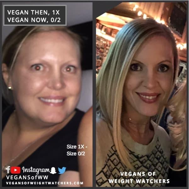 Lori Manby Vegan Then and Now