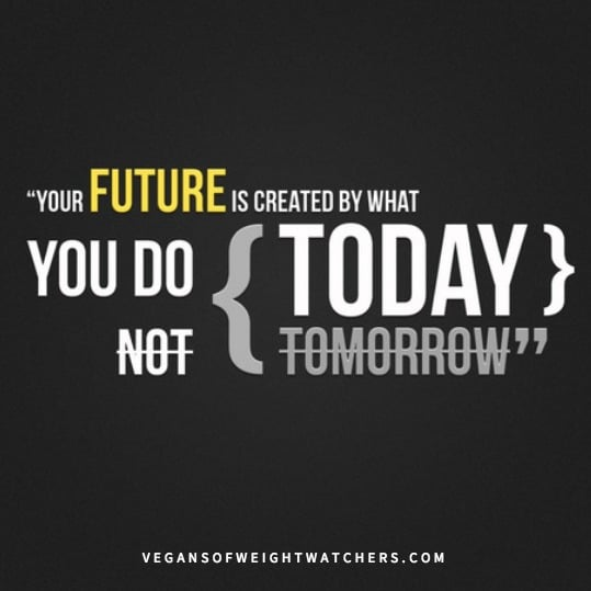 Your Future Depends on What You Do Today
