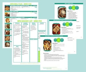 Meal Planning Mommies - 12-Week Meal Planner and Cookbook