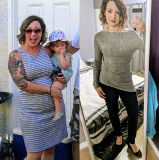 Marie D. Weight Loss Success Before and After